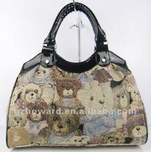leisure bags promotion fashion pattern lady handbags