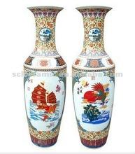 Famille Rose Large porcelain vase SL1V-L07