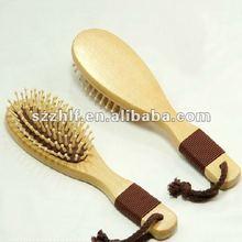 madeira de cabelo massagem pentes de osso