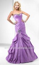 Innovative Style Sweeetheart Taffeta Modest Prom Dress PS-491