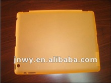 for ipad 2 and new ipad case new with rubber coating in stock,orange