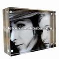 2012 acrílico transparente sexyimagem/moldura com 8 a205~new magnética