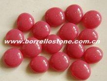 Swimming Pool Decorative Pink Glass Beads