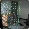 slap-up led glass, flashing glass, lights glass for curtain wall