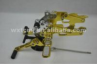 CNC motorcycle adjustable rearsets kawasaki TCF-13