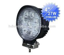 Heavy-Duty led Worklight 12/24 Volt, 27 Watt , Manufacturing Pencil / flood Beam Tractor Light