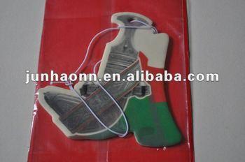 hanging car air freshener