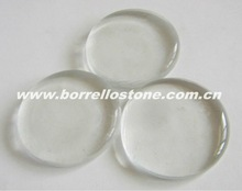 Crystal Flat Glass Beads For Garden Decorating