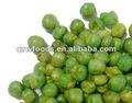 Guisantes verdes de ajo