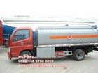 5000L Diesel Tanker Truck Foton Fuel Oil Petrol Tanker
