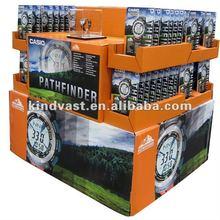 cardboard pallet display racks for casio pathfinder watch