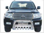 "08 Toyota Land Cruiser LC200 3"" Stainless Steel U shape Front Bull Bar"