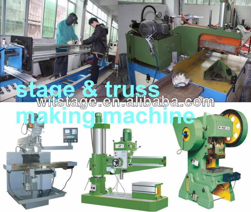 stage & truss making machine