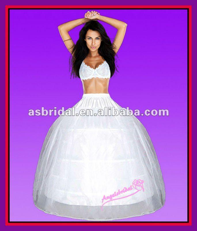 cerceaux 3 crinoline jupon réglable avec cerceau jupon robe de mariée pour la mariée robe de mariée jupe