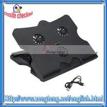 USB Port Vertical 3 Fan 6-Speed Adjustable Laptop Stand & Cooling Pad