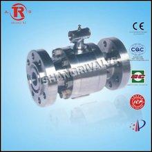 high pressure flange ball valve