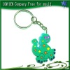 Customed soft pvc key chain parts/silicon keychain
