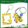 Make your own key chain with car logos,digital photo frame keychain
