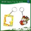 Cheap photo keychains card holder/plastic key chain