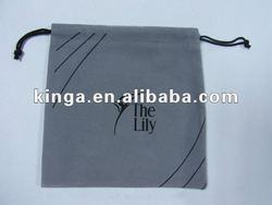 Velvet gift bags / promotion Velvet bag/ drawstring velvet bag