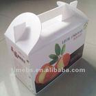Corrugated plastic cake boxes