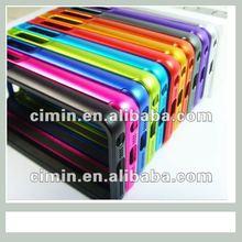 Custom design aluminum protector for iPhone 5g bumper cases