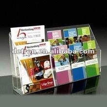 2012 Acrylic Leaflet /Magazine Holder A214~new