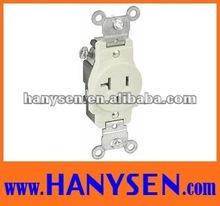 American Style Receptacle Duplex universal socket