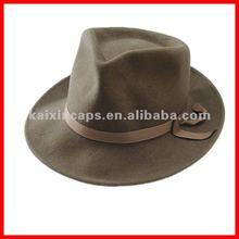 new style homburg & wool felt bucket hat & fedora