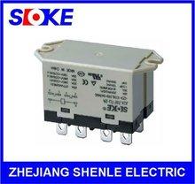 SLOKE plug in terminal top flange mount power relays 30A