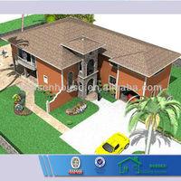 BV verified low cost prefab modern steel house