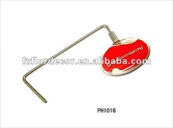 Promotion red folding Metal Purse Hangers of Round shape PH1016