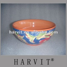 China Manufacturer Cheap Price Handpainting Porcelain Stoneware Bowls Promotional Colorful Glazed & Decal Dinnerware