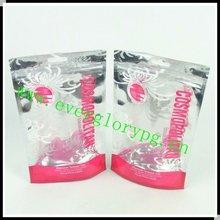 2012 Comestic Stand Up Clear Aluminum Foil Zipper Bag