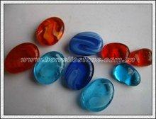 Irregular Glass Beads For Fish Ponds