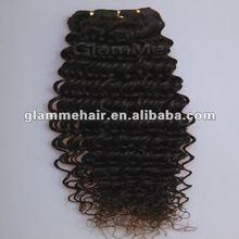 deep curl brazilian and peruvian human hair extension