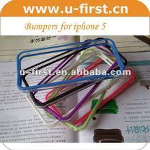bumper case for iphone 5 case transparent color