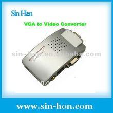 VGA to AV Converter PC to TV Converter