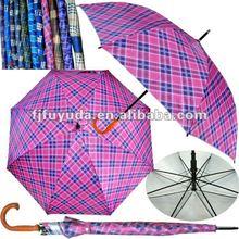 G32D UV auto open check golf Umbrella