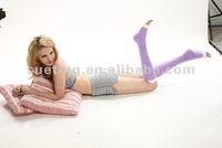 Medical compression Nylon Lycra Spandex sleep stockings