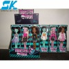 pretty girl plastic dolls Moxie girlz Nice and beautifully plastic doll toys for kid decorations fashion doll