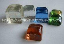 Irregular Color Glass Beads For Exterior Decoration