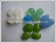 Irregular Color Glass Beads For Square