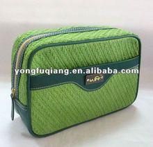High popular green straw woman fashion hand bags