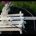 Grossiste de la main- en perles de cristal couronne de mariée
