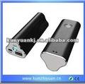 Kb01 mini portátil banco de potencia, universal de batería externa portátil cargador de batería de reacondicionamiento