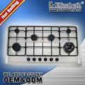 Fabricants de fourneau de gaz de brûleur de l'émail stove/5 de fer de fonte d'acier inoxydable d'appareils de cuisine/brûleur à gaz