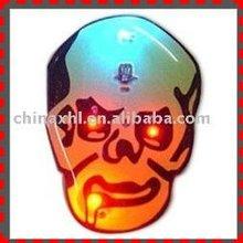 2012 New Halloween Decoration Flashing Pin