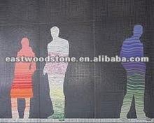 magic romantic wall mosaic art