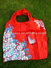 2013 cheap folding pouch bag,full print foldable shopping bag